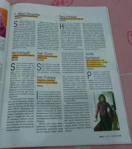 Ivan Prakasa SWA Magazine