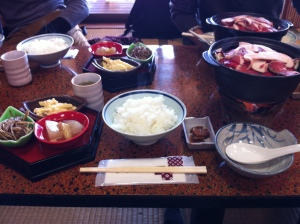 Lunch At Kosutei Sagawa