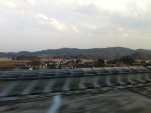Pemandangan dari shinkansen