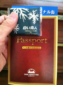 Shiroi Koibito Chocolate Factory Entrance Passport