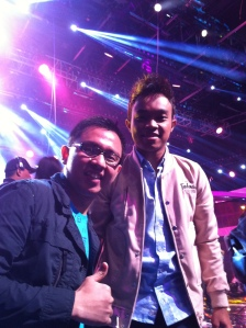 Ivan with Yuda AFI 2013