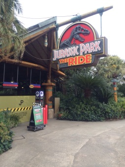 Entrance Jurassic Park Ride