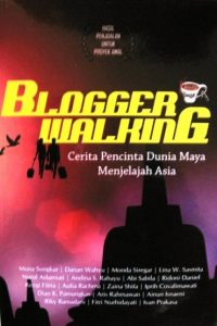 Blogger walking