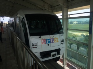 Monorail in Japan - Okinawa