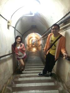 Go to underground in Former Navy Underground Headquarters