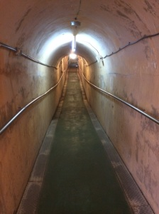 Long road in Former Navy Underground Headquarters