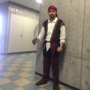 Ivan Prakasa in Halloween Costume