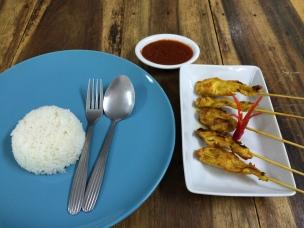 Thai chicken satay