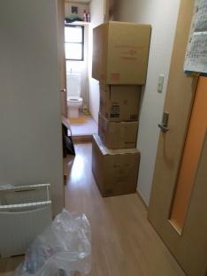 Proses packing pindahan Jepang
